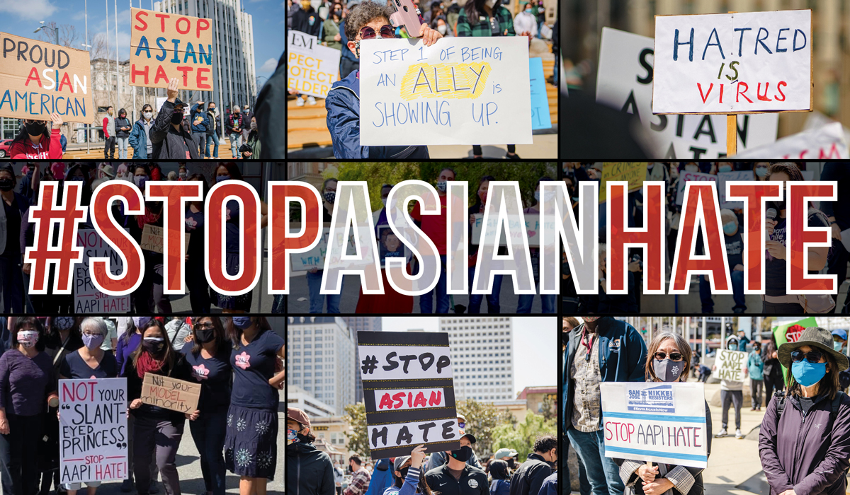 Stop Asian Hate protests